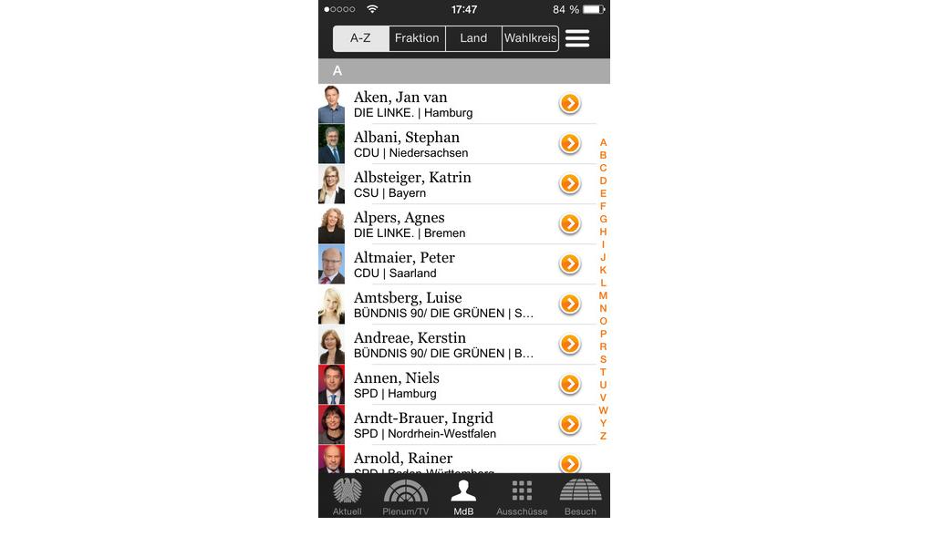 Bundestag - App 1