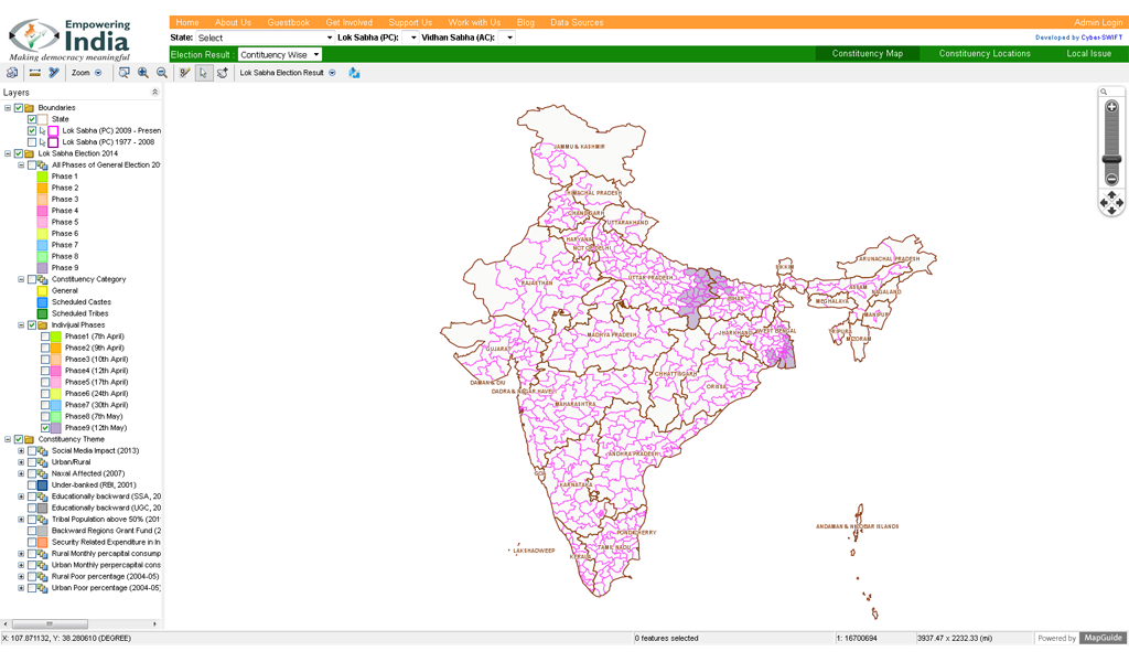 EmpoweringIndia - Map