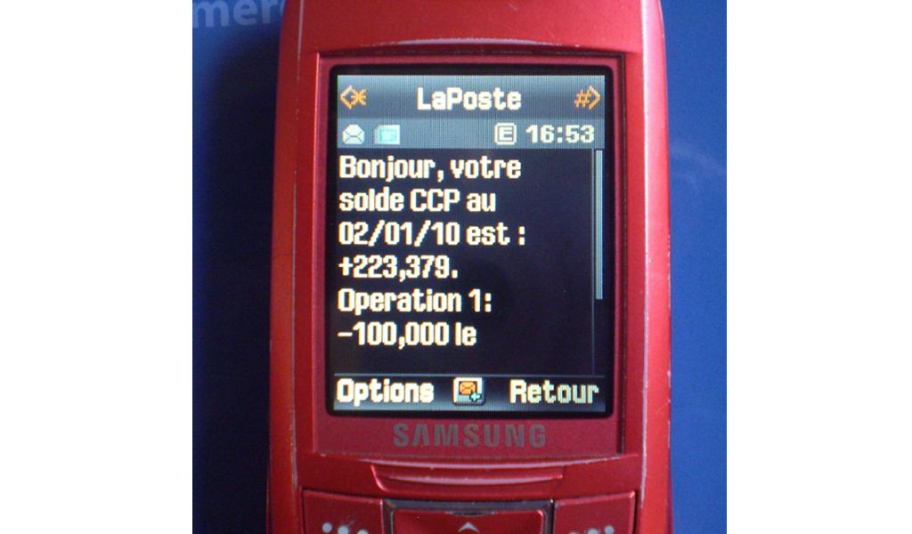 La poste - Mobile 1