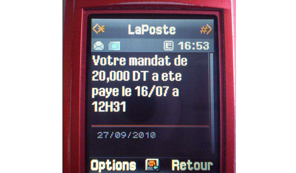 La poste - Mobile 2