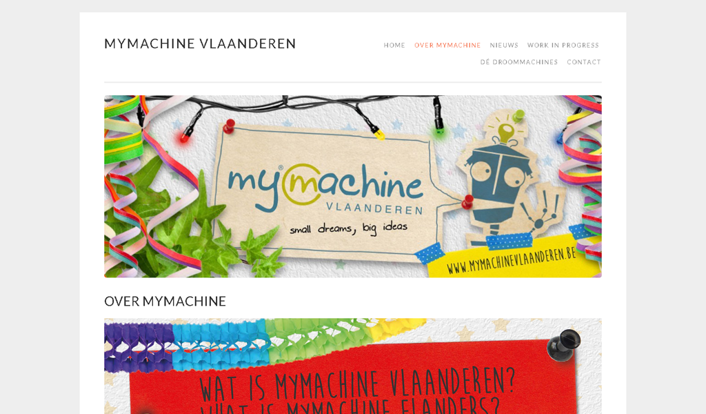 MyMachine - About