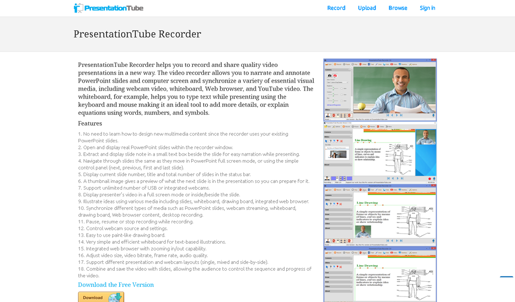 PresentationTube - Recorder