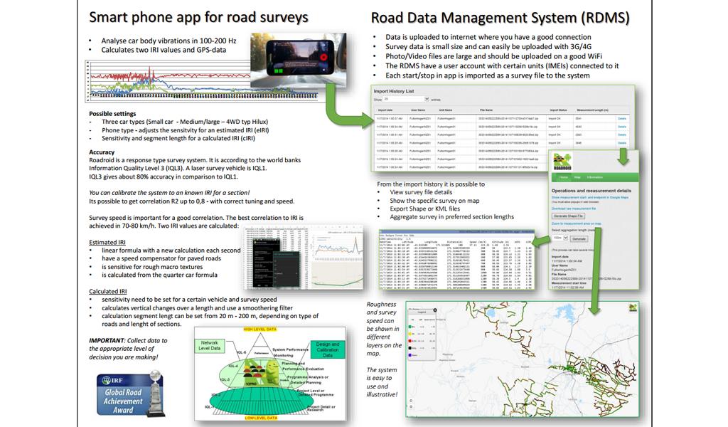 Roadroid - Info 2