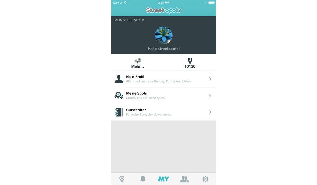 Streetspotr - App 3