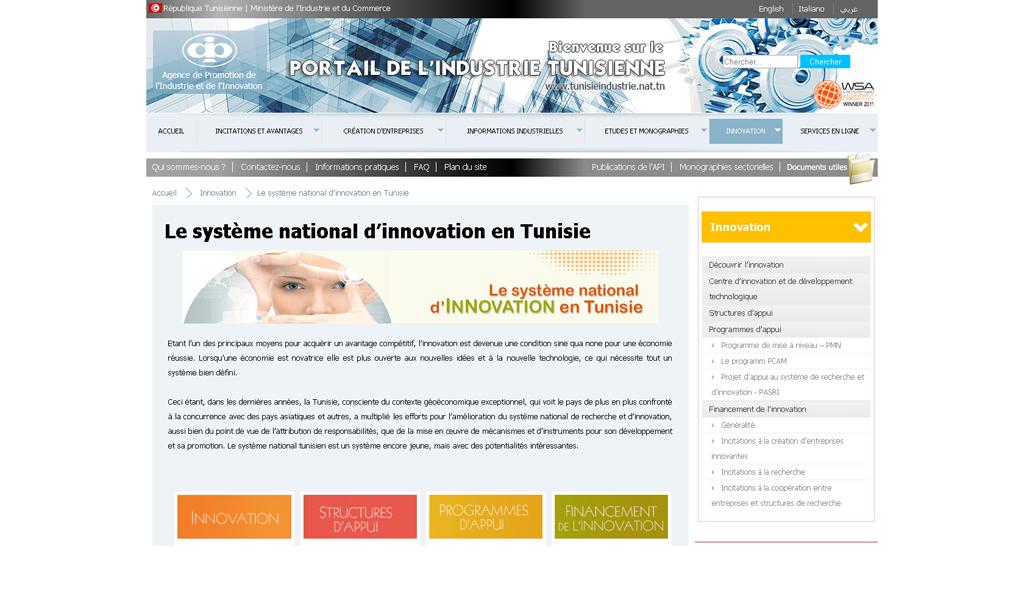 Tunisia - Innovation