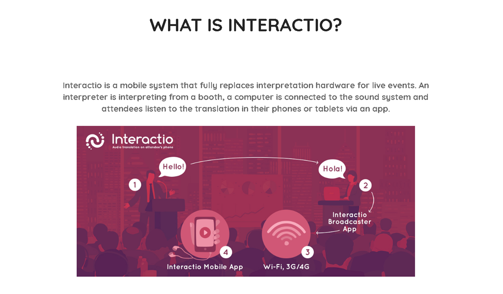 Interactio - About