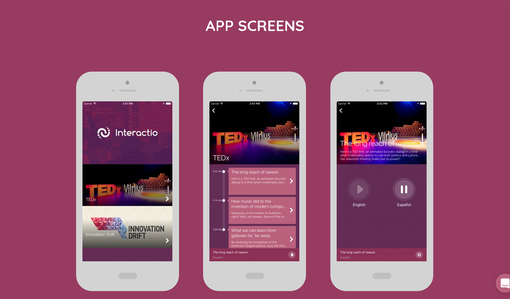 Interactio - App