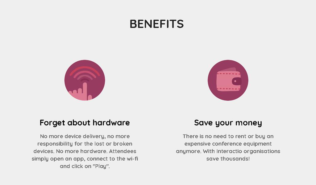 Interactio - Benefits