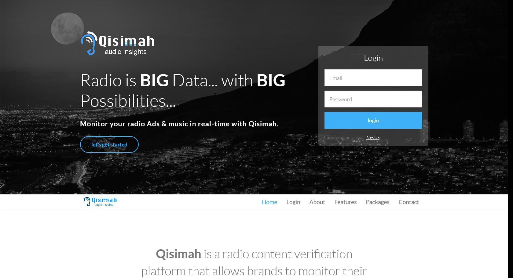 Qisimah - Website