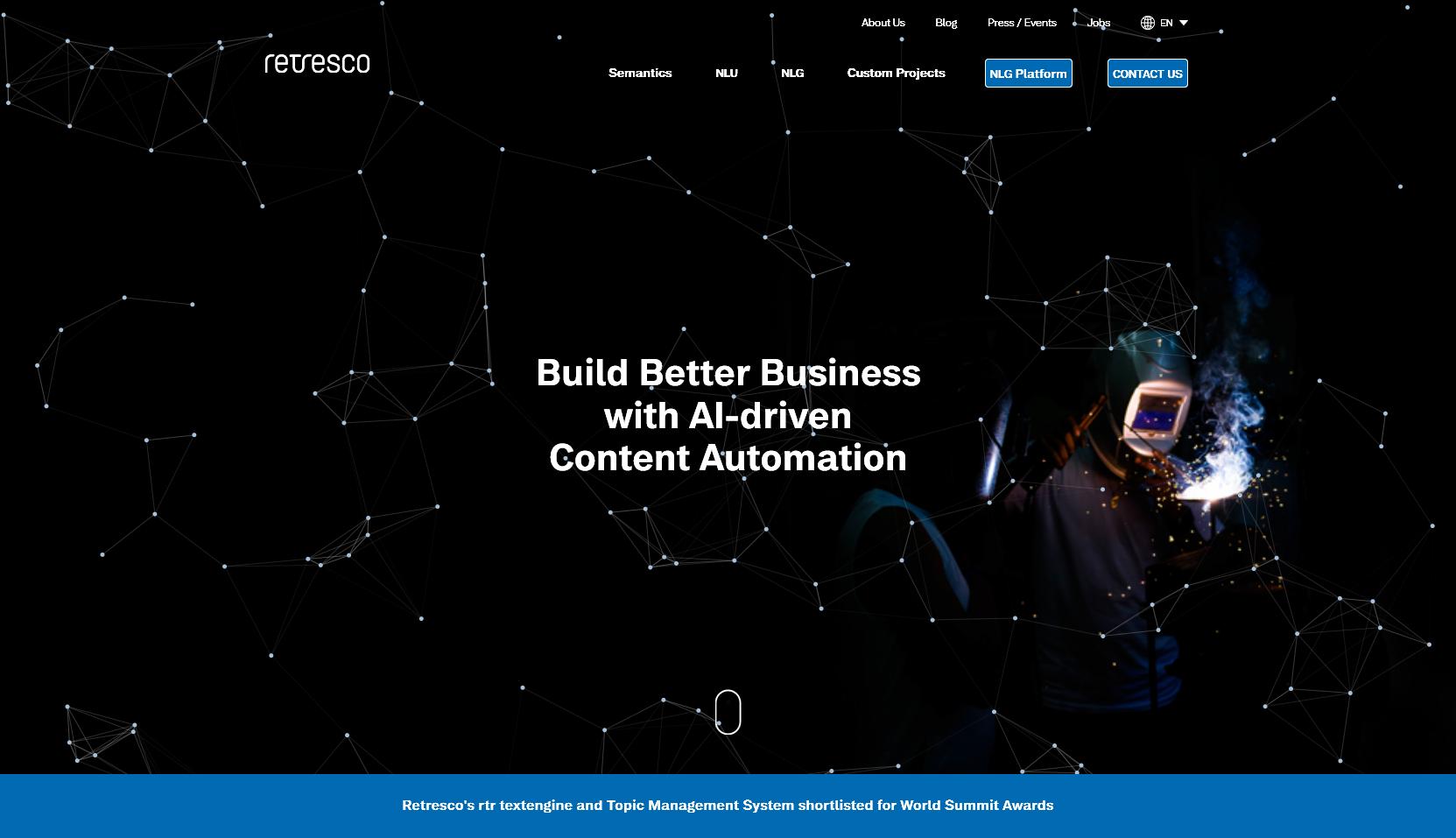 Retresco - Website