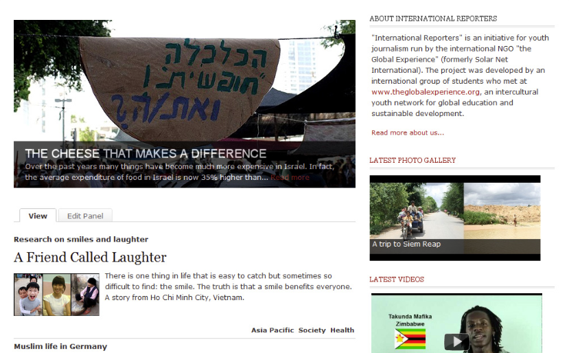international-reporters-website