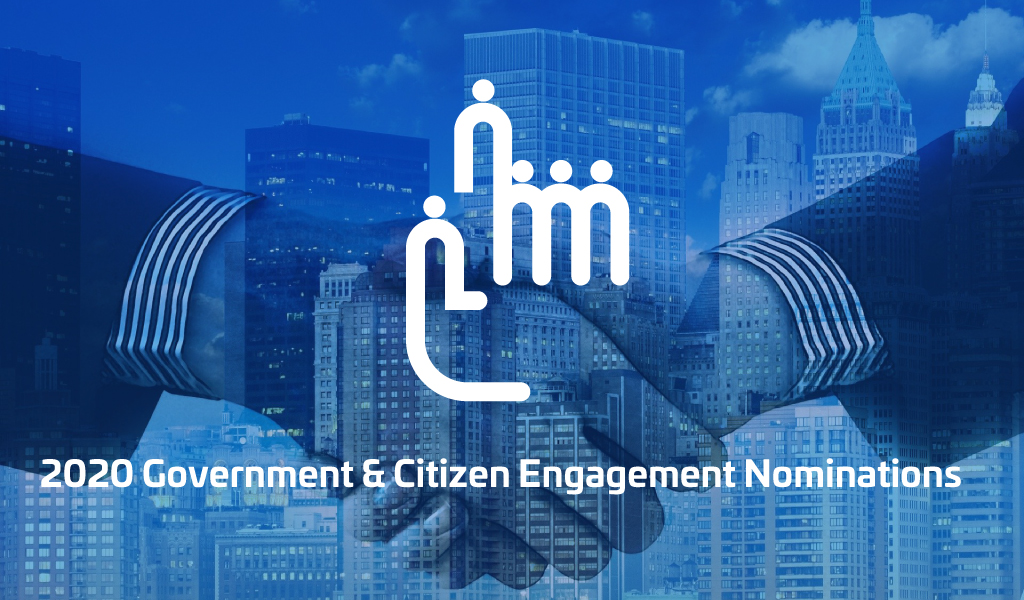 Nominees 2020 - GOVERNMENT & CITIZEN ENGAGEMENT