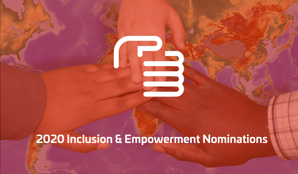 Nominees 2020 – Inclusion & Empowerment