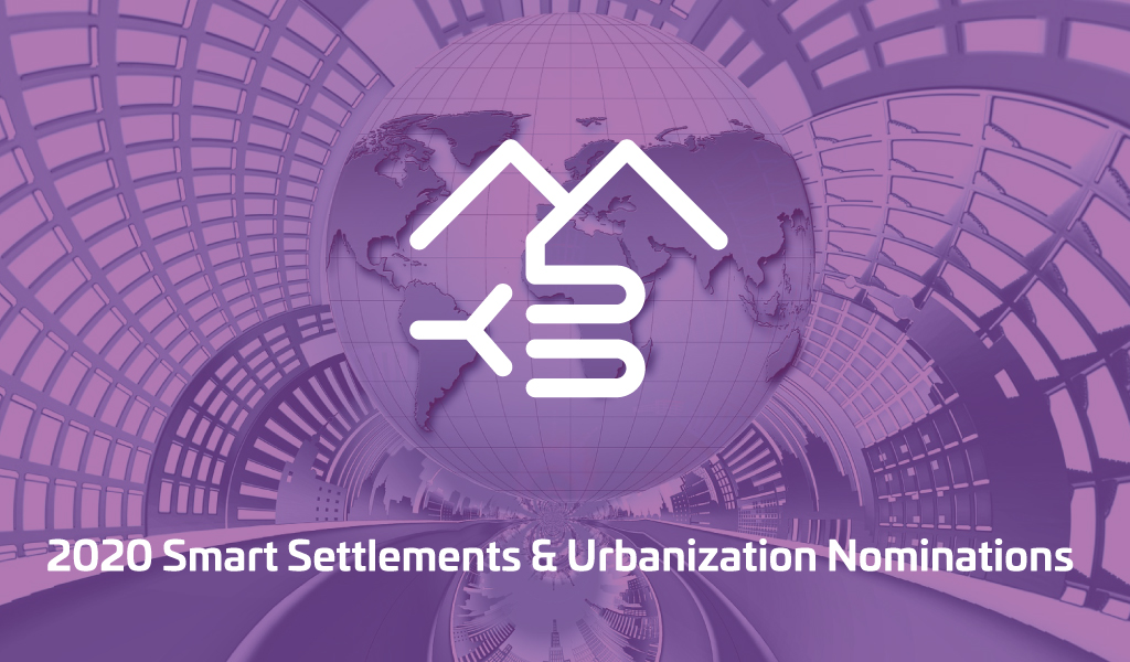Nominees 2020 - Smart Settlements & Urbanization